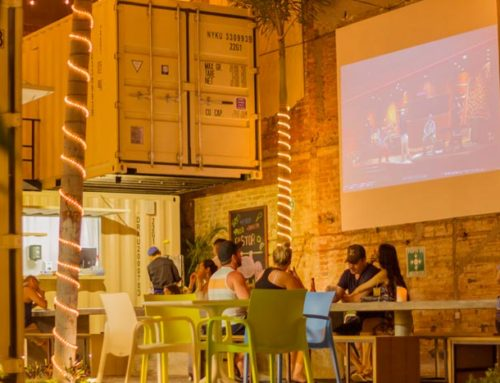 Street Food in Shipping Containers is the New Culinary Attraction at the Romantic Zone